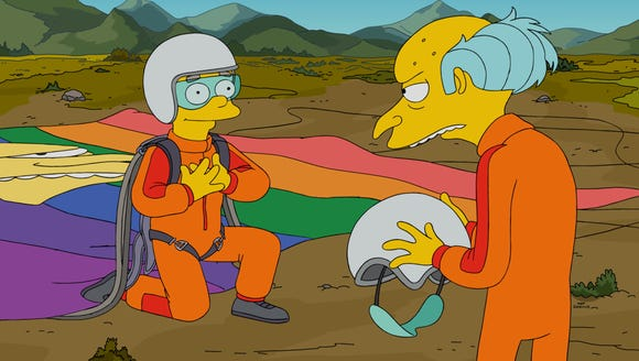 On Sunday's 'Simpsons,' Smithers gets rejected by Mr.