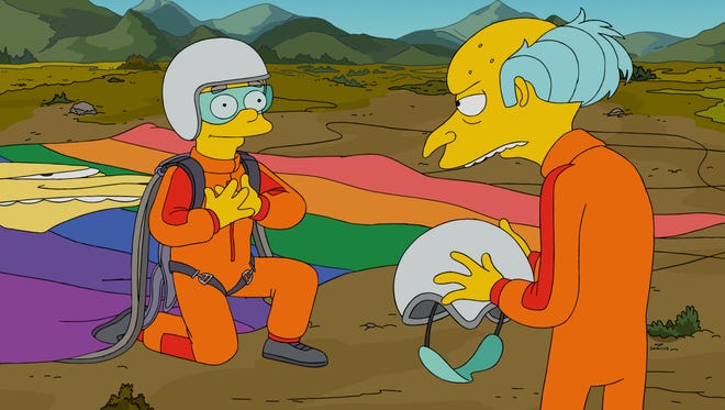 On Sunday's 'Simpsons,' Smithers gets rejected by Mr. Burns, causing Homer to help him find a boyfriend.