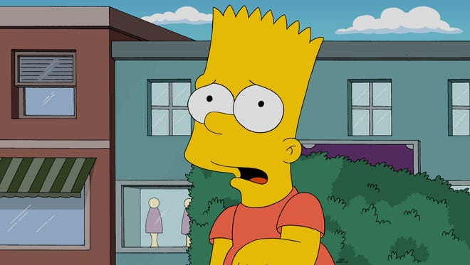 Meet the new James Bond, Bart Simpson, at least for purposes of a video celebrating 'The Simpsons' 600th episode.