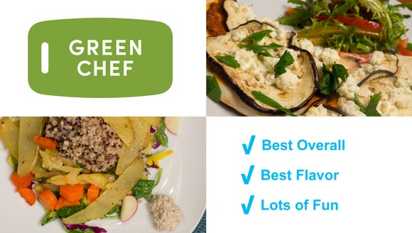 Green Chef - Best Overall