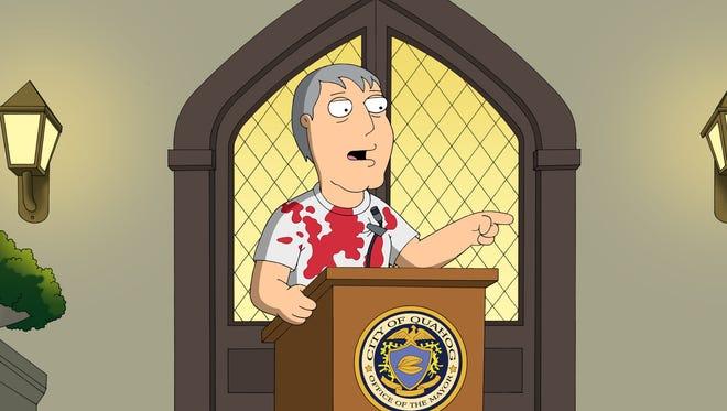 One of Adam West's best roles? 'Family Guy's Mayor Adam West.
