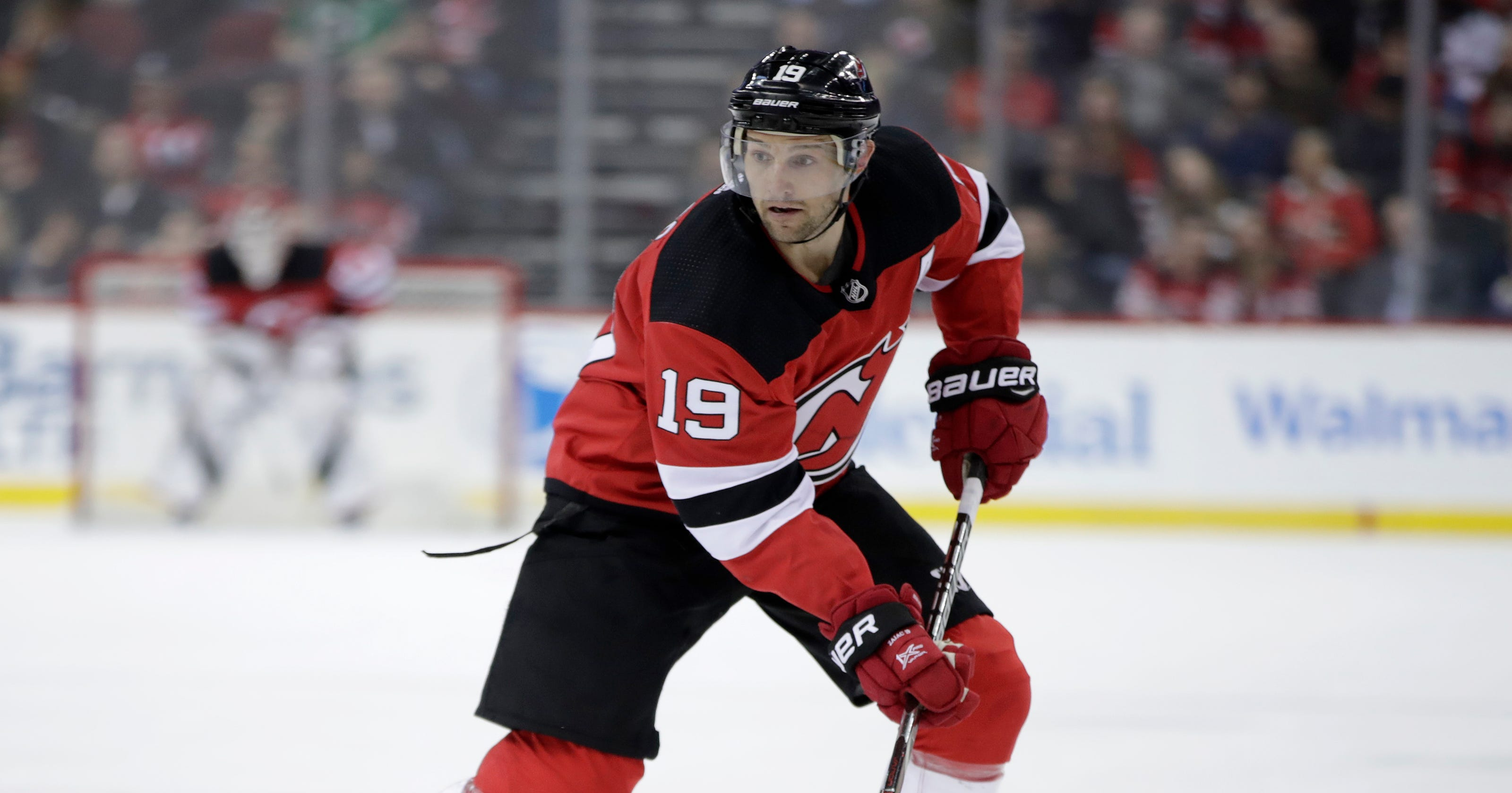 9a4239046 Travis Zajac practices with Devils in Las Vegas