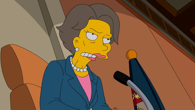 'The Simpsons': Mr. Burns' new love interest is voiced by ... Jane Fonda?