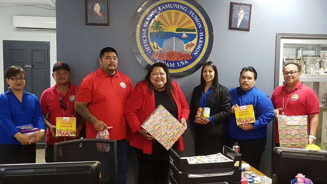 Kudos to the Great National Insurance Company for donating food items on Nov. 22 to help feed the hungry in Tamuning.