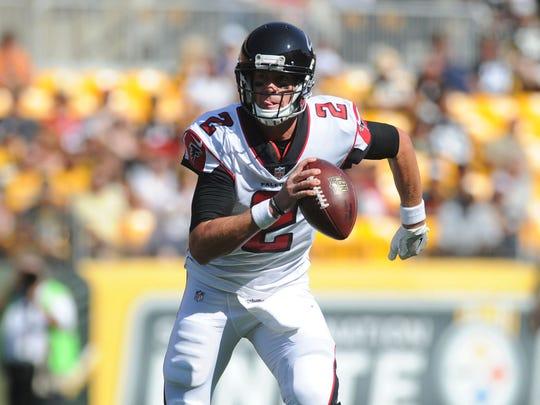 Atlanta Falcons quarterback Matt Ryan.