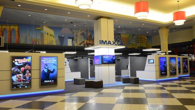 IMAX VR in the lobby of the AMC Loews Kips Bay 15 in Manhattan.