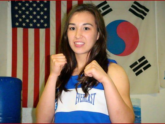 Jennifer Han, El Paso's first world boxing champion,