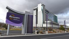 A file photo showing the outside of Renown Regional