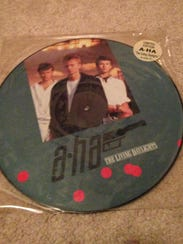 One of my most-prized a-ha possessions is a picture