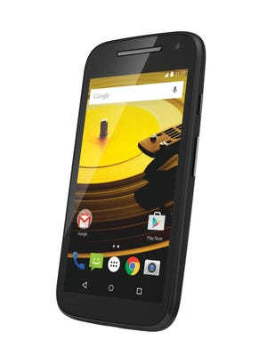 The new budget Moto E phone.