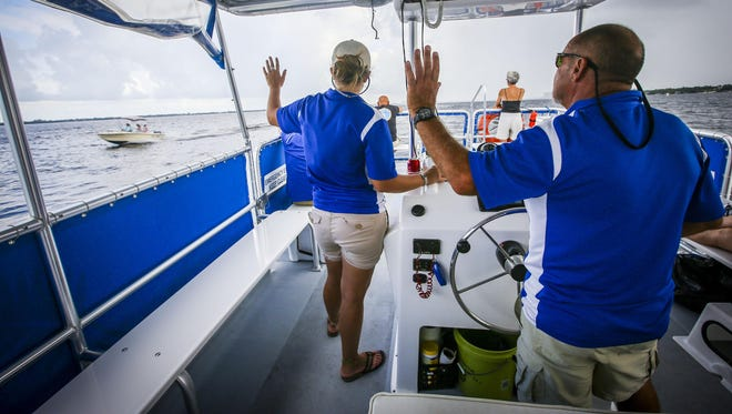Join Pure Florida on a hands-on learning experience during its Marine Science Cruise in Fort Myers from 10:30 a.m. to noon on Saturday.