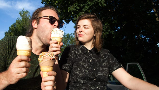 Abbie Morin and Thomas Pearo return to Vermont for a show Saturday at Nectar's.