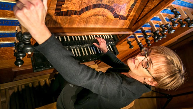 """Cornell University organist Annette Richards will present her French program """"Paris in the 1690s and 1930s"""" on Friday."""
