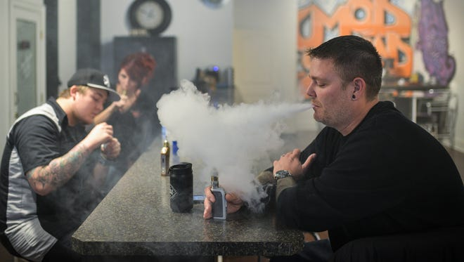 About 4 in 10 adults ages 18 to 29 say they've tried e-cigarettes, according to the 2016 Kentucky Health Issues Poll.
