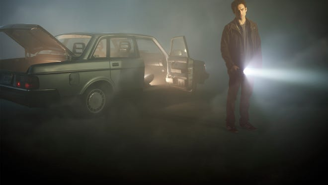 "Morgan Spector stars in ""The Mist."""