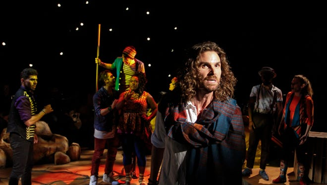 """Phoenix Theatre's production of """"Godspell"""" is the 100th musical directed by Michael Barnard in 19 years as artistic director."""