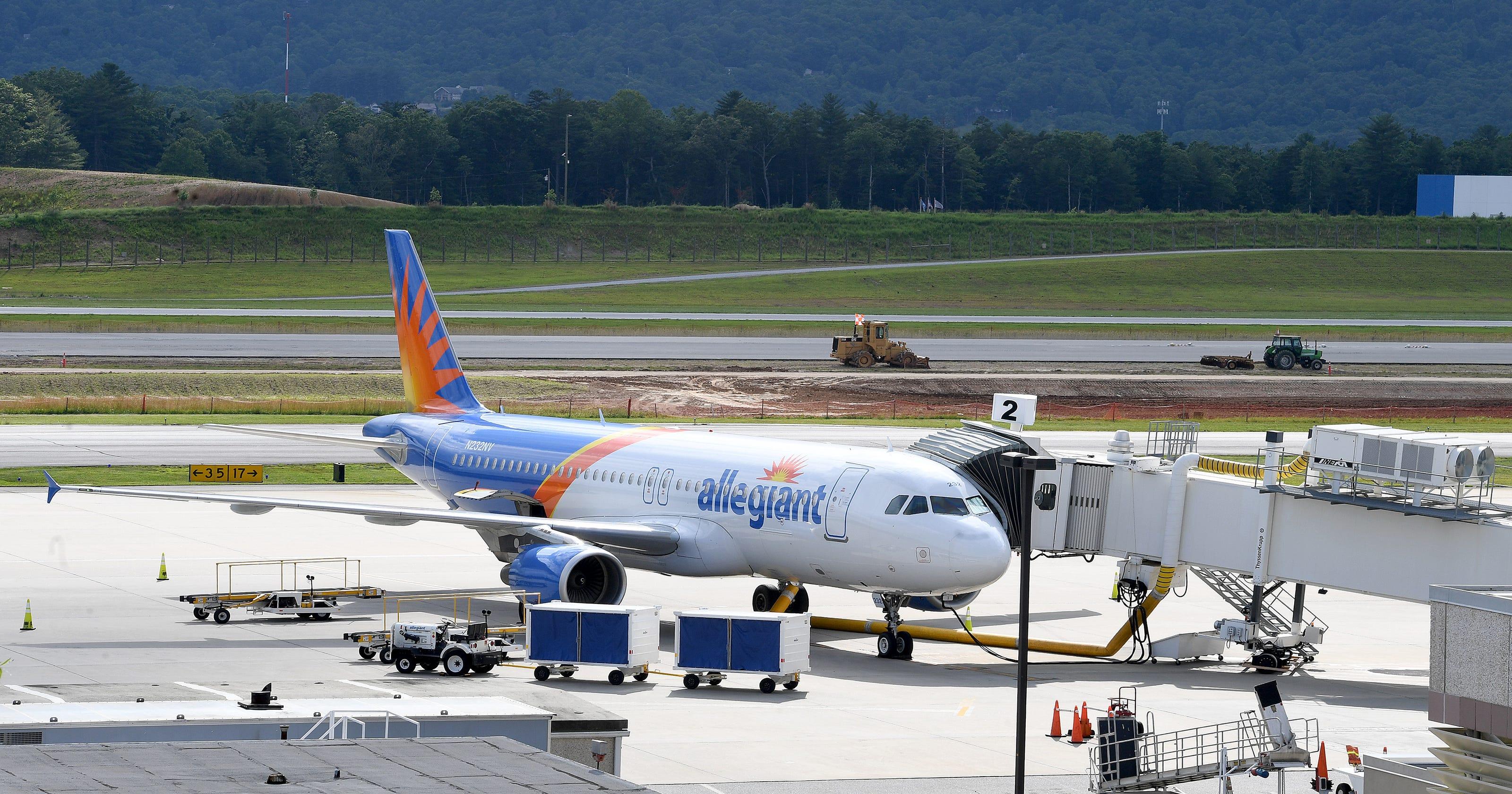 Asheville Regional Airport Allegiant Adds Flights To West