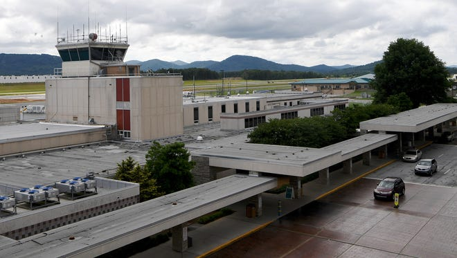 The Asheville Regional Airport on Tuesday, June 12, 2018.