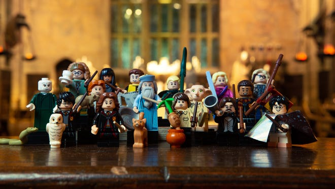 LEGO's new Minifigure series features 22 beloved characters from the Wizarding World of Harry Potter.