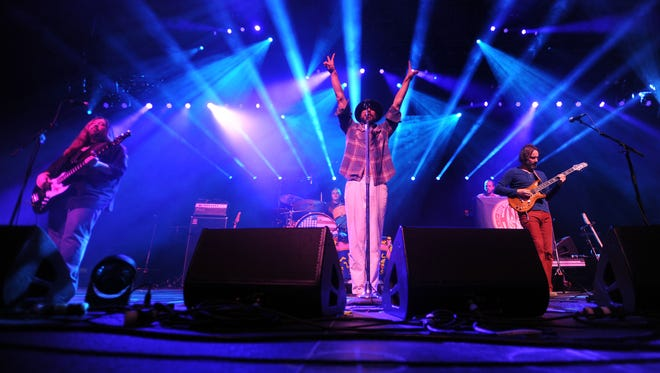 Todd Snider and the Hard Working Americans perform at the 2014 annual Warren Haynes Christmas Jam at the U.S. Cellular Center on Dec. 13. The annual jam is among the top grossing concerts for the downtown venue.