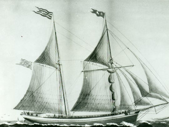 The Joseph Duvall, a ship of the Groh fleet, used to