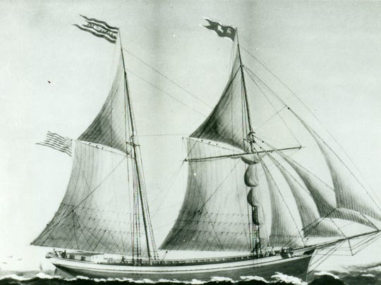 The Joseph Duvall, a ship of the Groh fleet, used to move thousands of chairs from the port of Sheboygan.