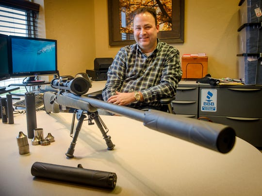 Brandon Maddox, founder of Dakota Silencer