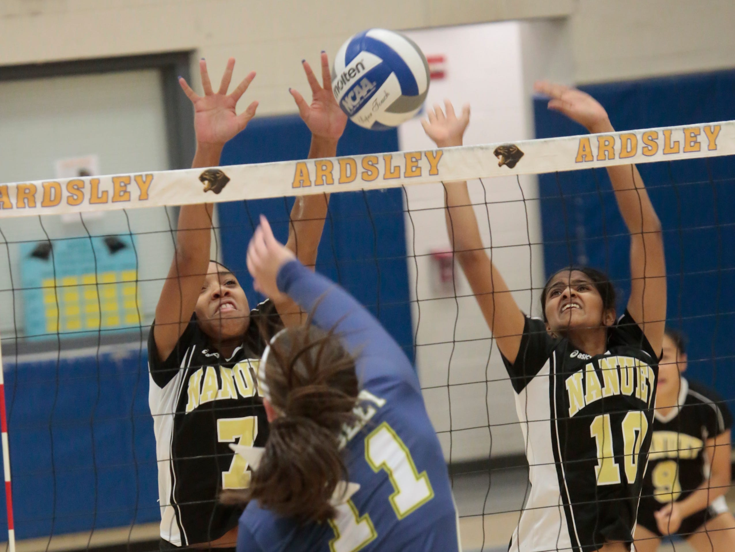 Nanuet sophomore Kayla Diaz (7) will be a name to know this season and going forward.