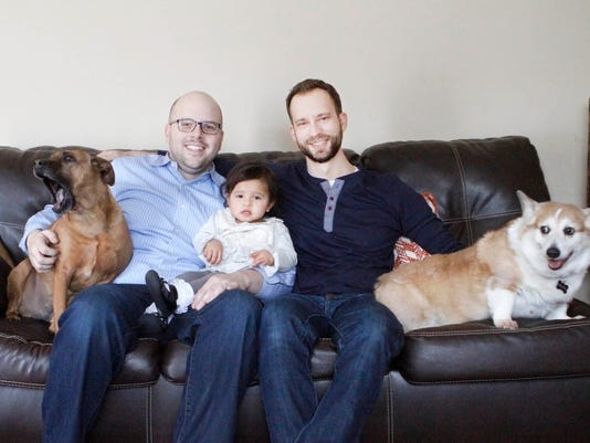 Gay couple adopt baby, give birth to new dream