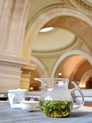 Tea Drunk at the Met pop-up cafe.