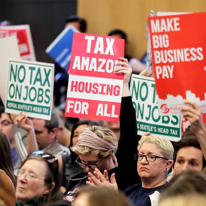 Seattle repeals tax on companies after Amazon fights back