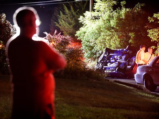 Michael Lopez, 22, of 117 S. 17th St., North Cornwall Township, was cited for driving too fast for conditions and not having insurance after his car rolled about 8 p.m. Sunday in the 1600 block of Mill Road, North Cornwall, police said. No injuries were reported, but an unnamed passenger was taken by ambulance to WellSpan Good Samaritan Hospital for evaluation, according to police. The car was towed. A homeowner who lives on the curve where the crash took place said he sees three or four accidents a year at that site. Neversink Fire Co., fire police and First Aid and Safety Patrol were dispatched.