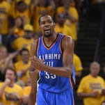 The smart money says Kevin Durant stays with OKC at least for a year. .