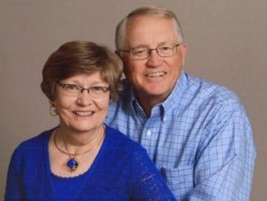 Anniversaries: Roland Ellis & Rebecca (Becky) Ellis