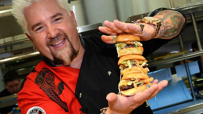 Celebrity chef Guy Fieri has restaurants all over the country, but he holds a special fondness for A.C.'s Chophouse.
