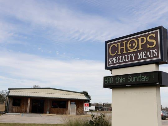 Chops Specialty Meats in Broussard Friday, Jan. 20,