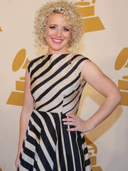 Cam Ochs is photographed on the red carpet for Nashville's