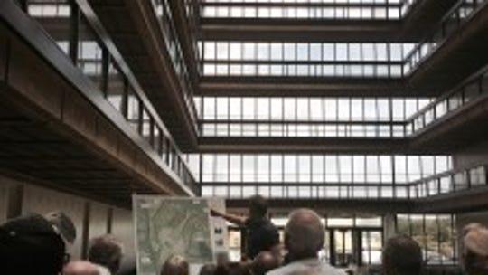 Bell Labs' redevelopment is underway.