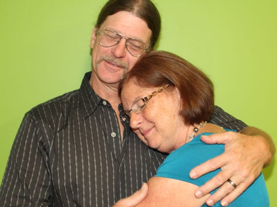 Tommy and Susan Hayton now try to help those less fortunate