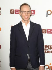 Steve Ells arrives at the Chipotle world premiere of