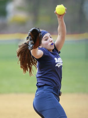 Sophomore pitcher Victoria Sebastian is 12-0 with a 0.86 ERA for Ramsey.