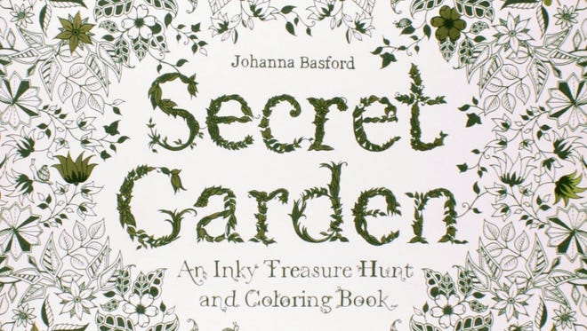 Secret Garden: An Inky Treasure Hunt and Coloring Book by Johanna Basford. ($15.95,  Laurence King Publishing)
