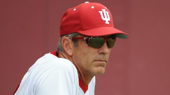 IU baseball coach Tracy Smith (pictured) and the Hoosiers held open batting practice Thursday, ahead of this weekend's NCAA regional in Bloomington.