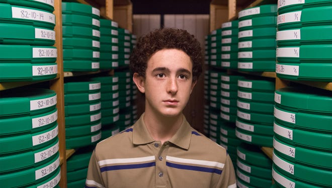 """Sam Kindseth channels Dustin """"Screech"""" Diamond in Lifetime's 'The Unauthorized Saved by the Bell Story,' airing Monday at 9pm ET/PT."""