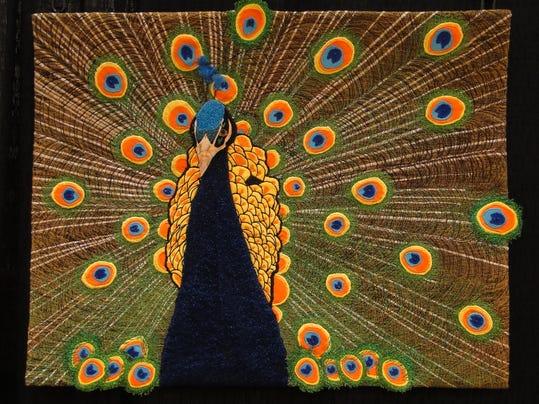 Peacock by Toni Bergeon of Green Bay.jpg