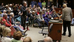 Town halls are in the spotlight, but are they effective in communicating with lawmakers?