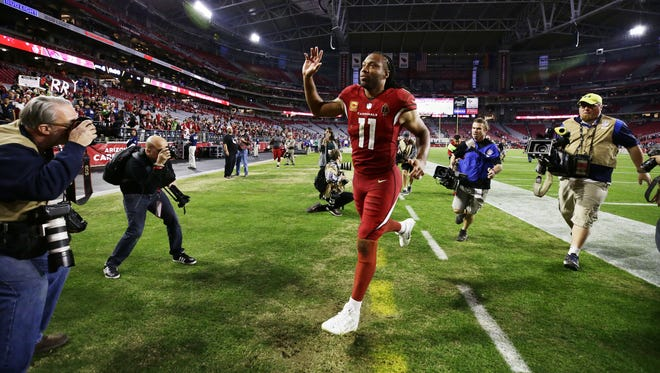 Larry Fitzgerald is not done playing football.