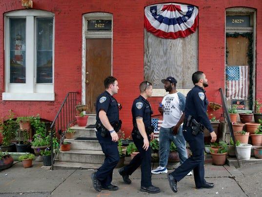 Baltimore police report from DOJ