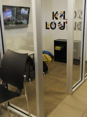 """The dealership offers kids their own lounge. """"Our employees"""
