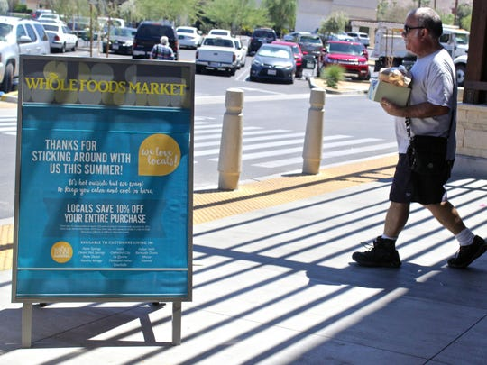 As an attempt to attract customers during the summer, Whole Foods is offering a 10 percent discount off the entire purchase for anyone with an address in the valley.